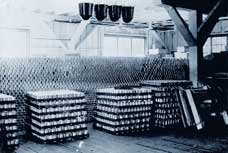 Rivers Inlet cannery tins