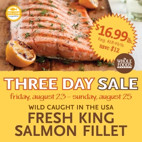 People are often willing to pay twice the price for wild salmon because they think it's somehow better.