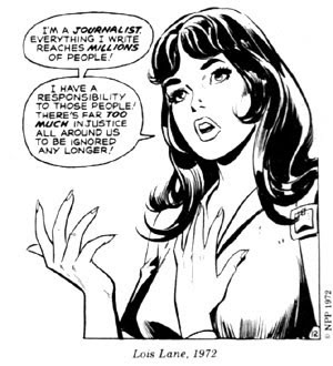 Ah, Lois Lane and classic investigative journalism, we miss you.